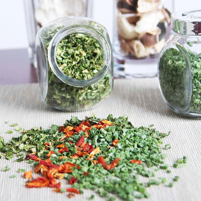 冷冻乾燥蔬菜