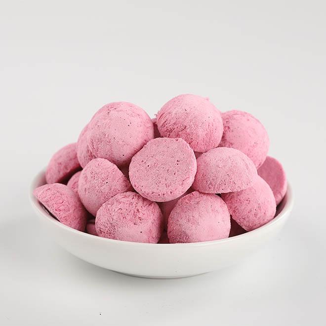 紅心火龍果酸奶豆